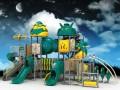 新款幼儿园户外设备室外 小区公园塑料组合滑梯